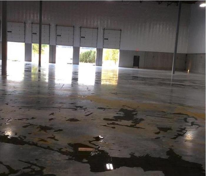 Water Damage in an East Side Warehouse