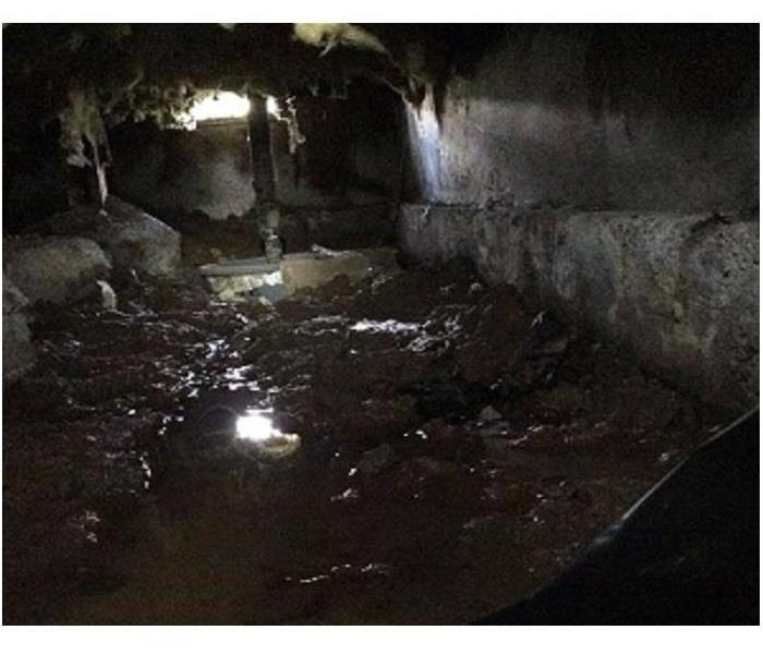 Sewage Back Up In Crawlspace Outside of Portland