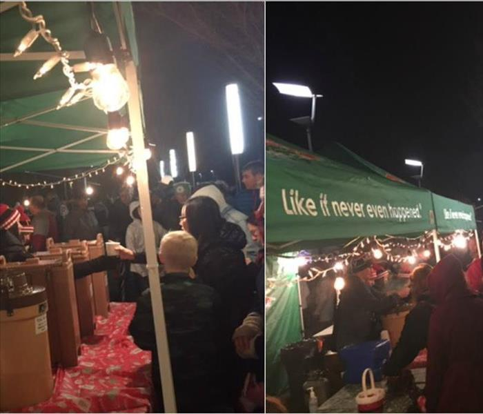 Community SERVPRO of Gresham at the 25th Annual Christmas Tree Lighting